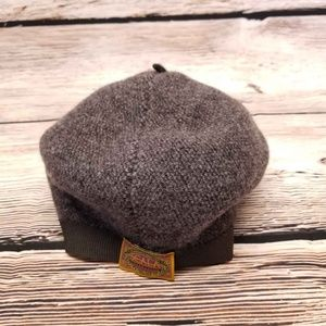 Scala Women Wool Beret Gray one Size Hat Cap